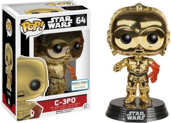 Funko Pop Star Wars C3PO Metálico Exclusivo #64