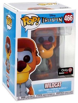 Funko Pop Disney Telespin Wildcat Exclusivo #466