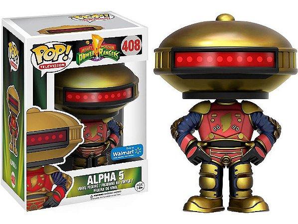 Funko Pop Power Rangers Alpha 5 Exclusivo #408