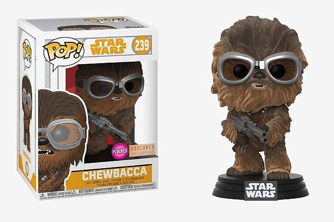 Funko Pop Star Wars Chewbacca Flocked Exclusivo #239
