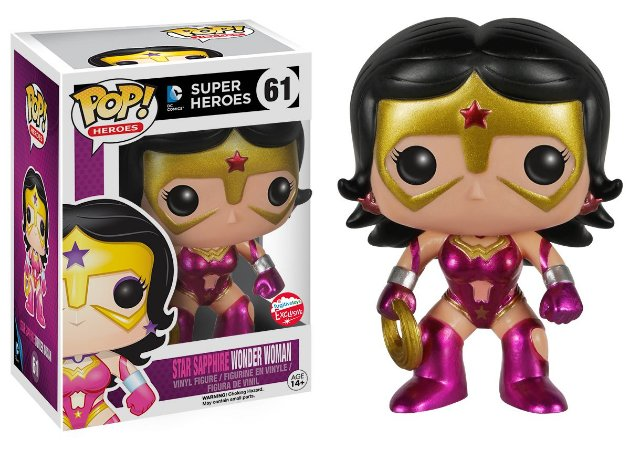 Funko Pop DC Star Sapphire Wonder Woman Mulher Maravilha Exclusiva #61