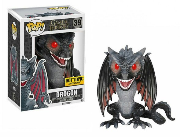 "Funko Pop Game Of Thrones Drogon 6"" Exclusivo #46"