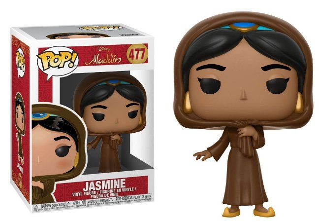 Funko Pop Disney Aladdin Jasmine Disguise #477