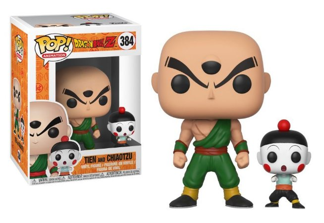 Funko Pop Dragon Ball Z Tien e Chiaotzu #384