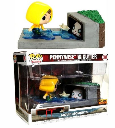Funko Pop Terror IT Pennywise in Gutter Exclusivo Movie Moments #584