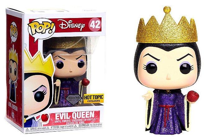 Funko Pop Disney Evil Queen Rainha Má Glitter Diamond Exclusiva #42