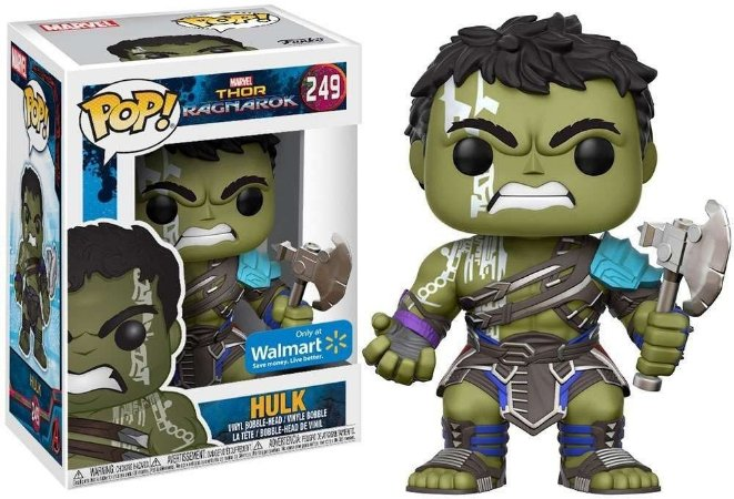 Funko Pop Marvel Thor Ragnarok Hulk Exclusivo #249
