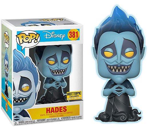 Funko Pop Disney Hercules Hades Glow Exclusivo #381