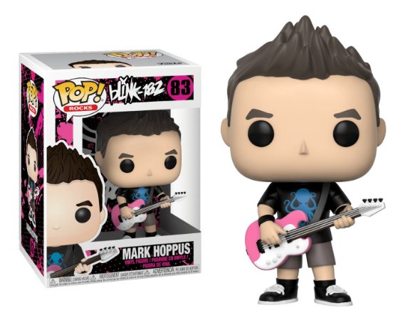 Funko Pop Rocks Blink 182 Mark Hoppus #83
