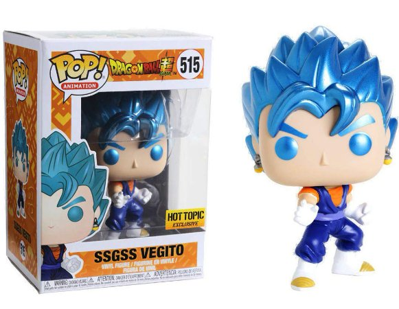 Funko Pop Dragon Ball Super SSGSS Vegito Exclusivo #515