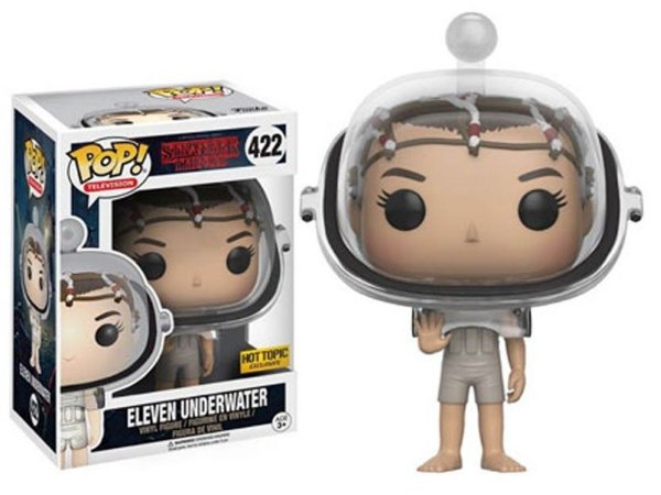 Funko Pop Stranger Things Eleven Underwater Exclusiva # 422