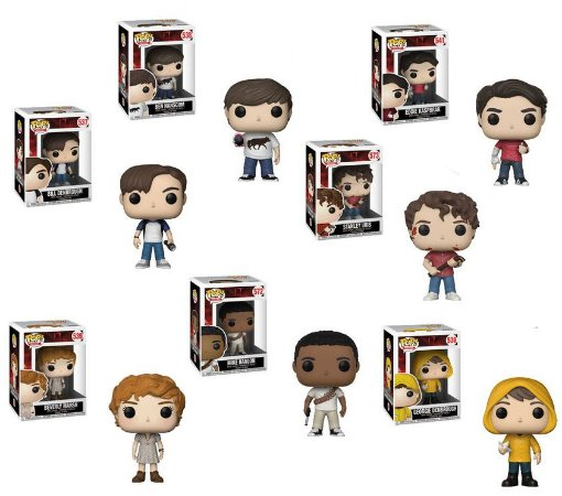 Funko Pop Terror It A Coisa Set com 7 Personagens