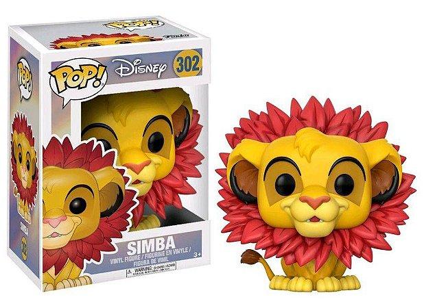 Funko Pop Disney O Rei Leão The Lion King Simba Leaf Mane #302