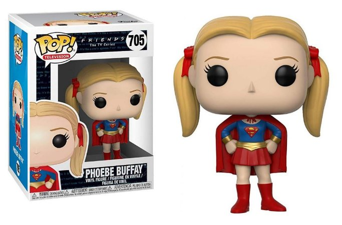 Funko Pop Friends Phoebe Buffay Supergirl #705