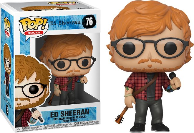 Funko Pop Ed Sheeran #76