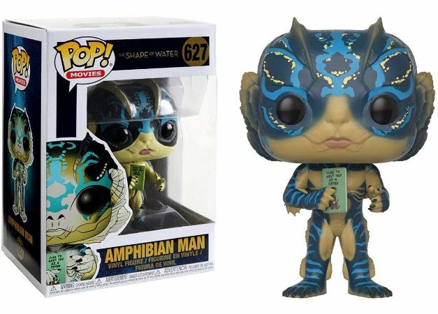 Funko Pop Shape of Water Forma da Agua Amphibian Man #627