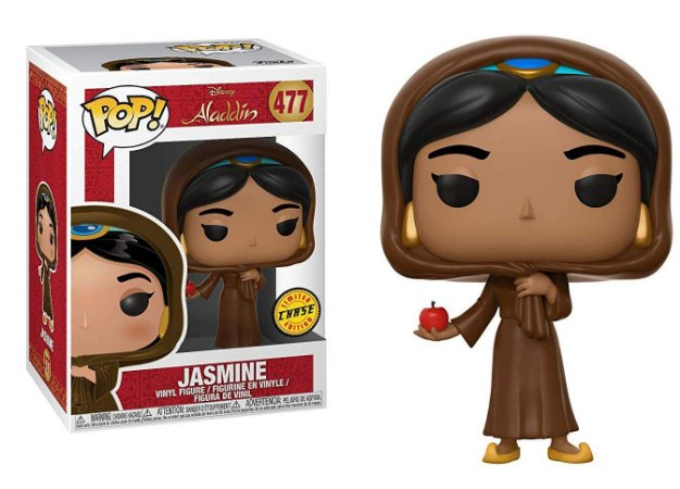 Funko Pop Disney Aladdin Jasmine Disguise Chase #477