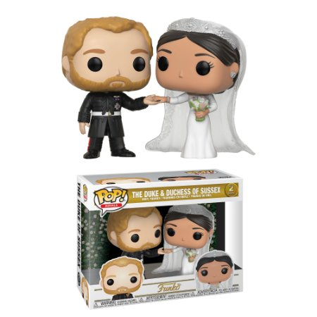 Funko Pop Royal Family Duke & Duchess Of Sussex Pack