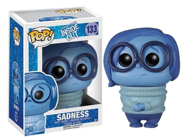 Funko Pop Disney Divertidamente Inside Out Tristeza Sadness #133