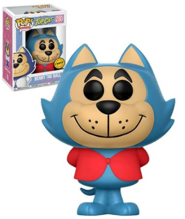 Funko Pop Hanna Barbera Top Cat Manda Chuva - Benny The Ball Batatinha Chase #280