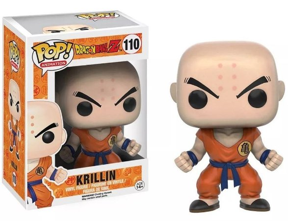 Funko Pop Dragon Ball Z Krillin #110