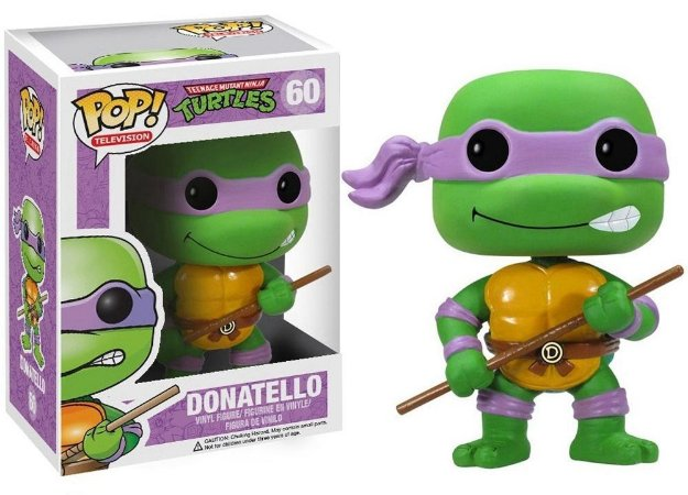Funko Pop Tartaturas Ninja Donatello #60