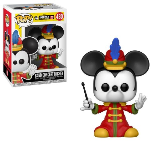 Funko Pop Disney Mickey's 90th Anniversary Band Concert Mickey #430
