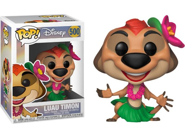 Funko Pop Disney O Rei Leão The Lion King Luau Timon #500