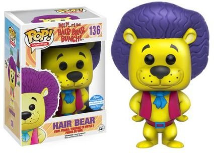 Funko Pop Hair Bear Bunch Hair Bear Exclusivo Funko Shop #136