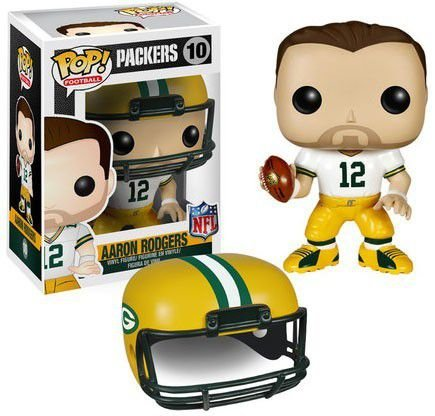 Funko Pop NFL Green Bay Packers Aaron Rodgers #10