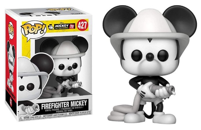 Funko Pop Disney Mickey's 90th Anniversary Firefighter Mickey #427