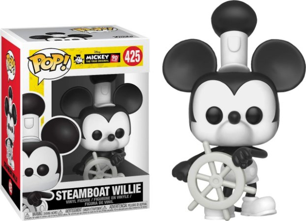 Funko Pop Disney Mickey's 90th Anniversary Steamboat Willie #427