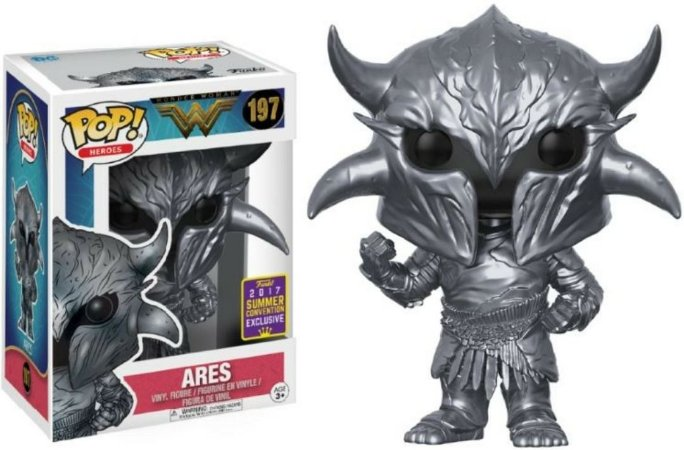 Funko Pop DC Wonder Woman Ares Exclusivo SDCC17 #197