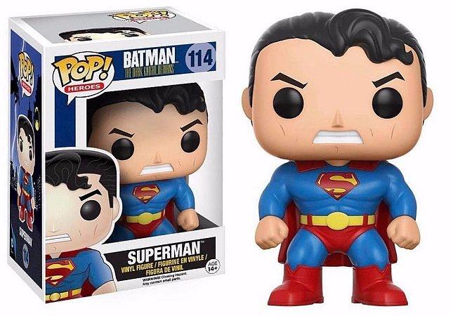 Funko Pop DC Batman Dark Knight Returns Superman Exclusivo #114