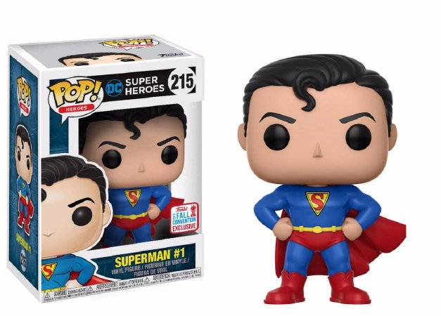 Funko Pop Dc Super Heroes Superman #1 Exclusivo NYCC 17 #215