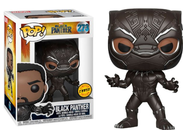 Funko Pop Marvel Pantera Negra Black Panther Chase #273