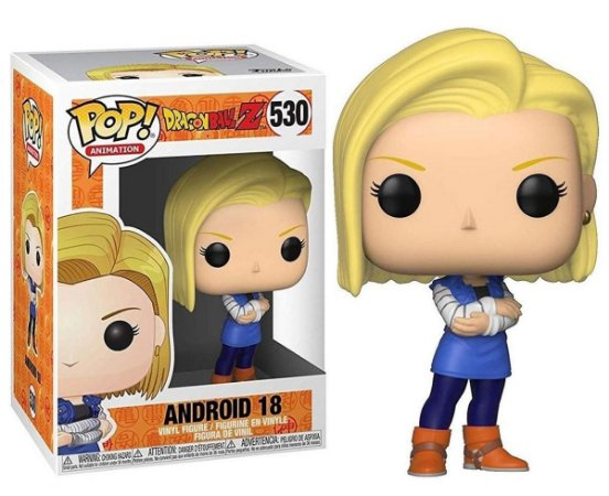 Funko Pop Dragon Ball Z Android 18 #530