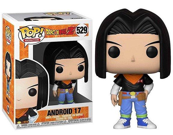 Funko Pop Dragon Ball Z Android 17 #529