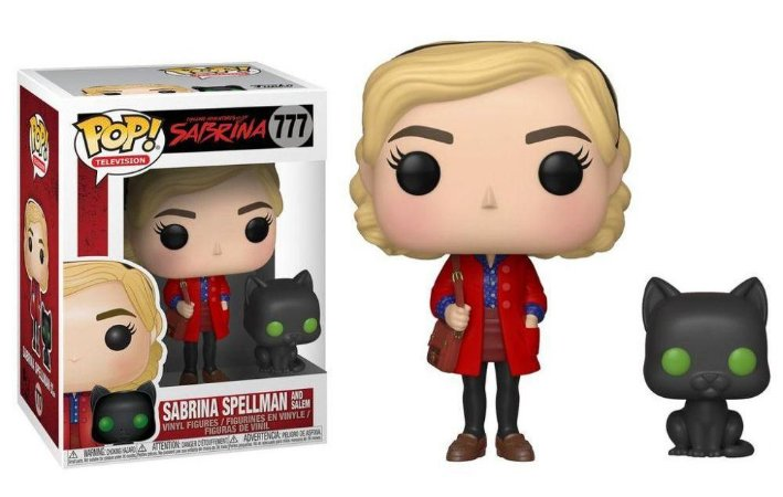 Funko Pop Sabrina Spellman And Salem #777