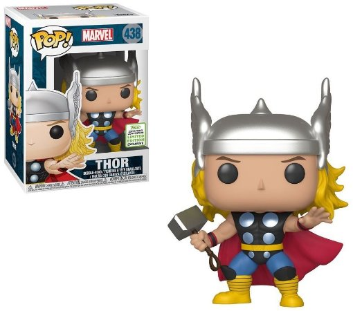 Funko Pop Marvel Thor Exclusivo ECCC 2019 #438