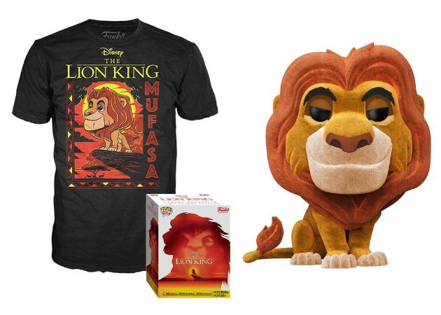 Funko Box Disney Lion King Mufasa Flocked Exclusivo Target #495