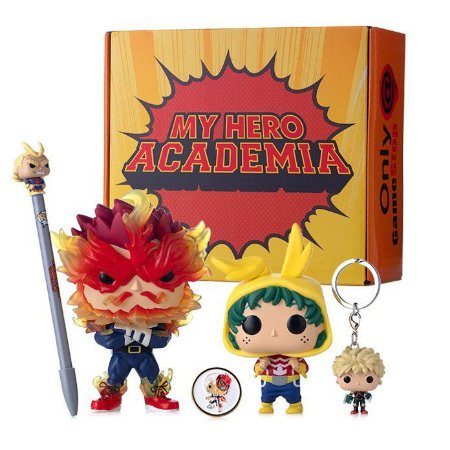 Funko Pop Box My Hero Academia Exclusivo Gamestop