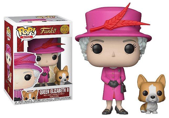 Funko Pop Royal Family Familia Real Queen Elizabeth II #01