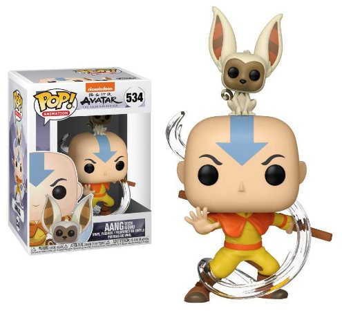 Funko Pop Avatar The Last Airbender Aang With Momo #534