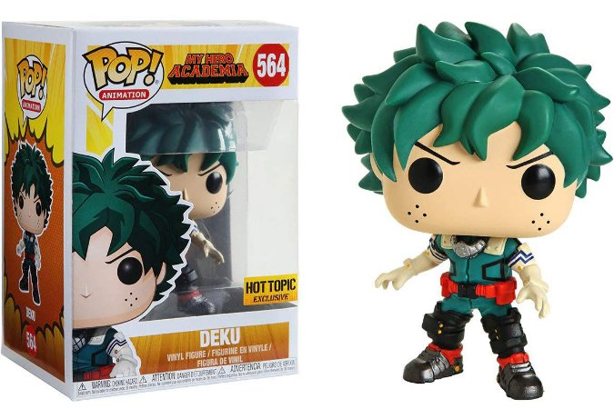 Funko Pop My Hero Academia Deku Exclusivo Hot Topic #564