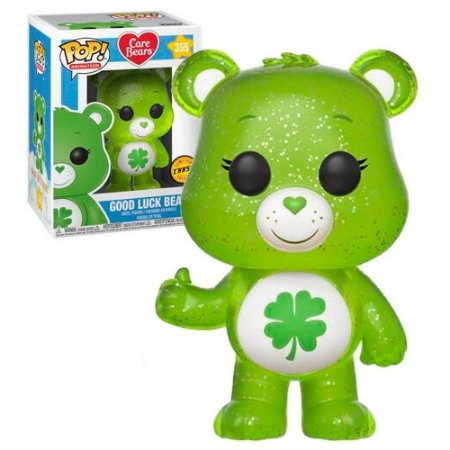 Funko Pop Ursinhos Carinhosos Care Bears Good Luck Bear Chase Glow #355