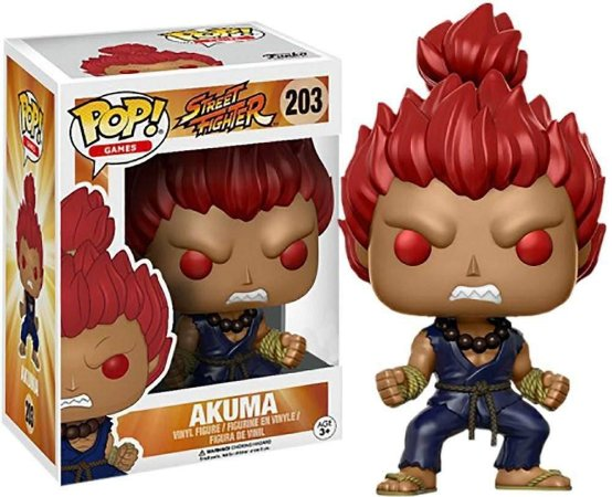 Funko Pop Street Fighter Akuma Exclusivo #203