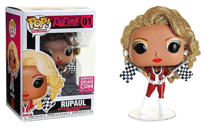 Funko Pop Drag Queens Rupaul Diamond Exclusivo Drag Con #01