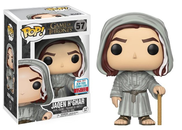 Funko Pop Game Of Thrones Jaqen H'ghar Exclusivo Nycc17 #56