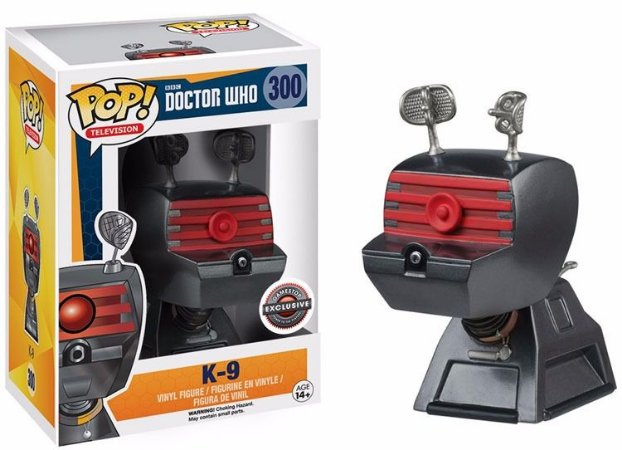 Funko Pop Doctor Who K9 Exclusivo Gamestop #300